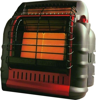Picture of Mr Heater MH18B Big Buddy Heater Propane 4000 To 18000BTU Portable Not MA Approved