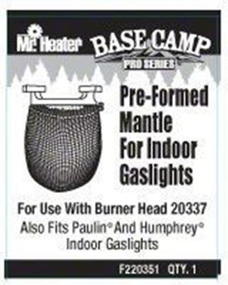 Picture of Mr Heater F220351 Preformed Mantle Fits Gas Lights