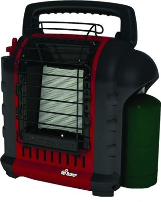 Picture of Mr Heater MH9BX Buddy Heater Propane 4000 To 9000 BTU Portable Not MA Approved