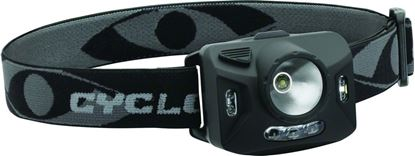 Picture of Cyclops CYC-RNG1XP Ranger XP Headlamp, 126 Lumens, 3-Layer Adjustable Headband, 4-Mode Lighting, 3-AAA Batteries Included