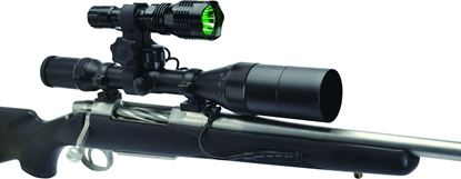 Picture of Cyclops CYC-VB250 Varmint Light, 250 Lumen, BRQ Scope Rail-Mount Adaptor, Flashlight/Green & Red LED, Rechargeable
