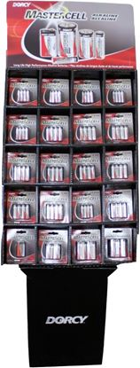 Picture of Dorcy 41-1608 135 Piece Mastercell Alkaline Battery Display