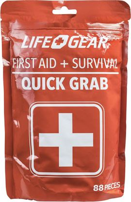 Picture of Dorcy 41-3819 88PC Stormproof Quick Grab First-aid Survival Kit