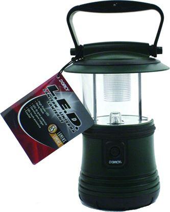 Picture of Dorcy 41-3103 200 Lumen Camping Lantern, Waterproof, Adjustable Handle, Built-in Hang Hook, Amber Nightlight,COB Technology