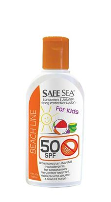 Picture of Safe Sea 1652 SPF 50 KIDS Protective Lotion/ Sunblock / Sting Protection