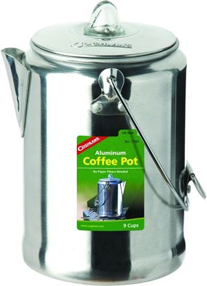 Picture of Coghlans 1346 Aluminum Coffee Pot 9Cup (079465)