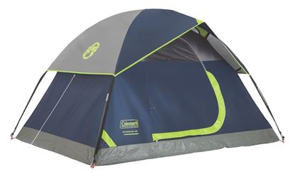 Picture of Coleman 2000024579 Tent Sundome 7x5 2 Person Navy/Grey