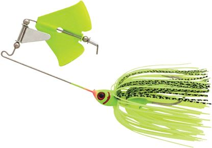 Picture of Booyah BYB38607 Buzz Bait, 3/8 oz, Chartreuse Shad