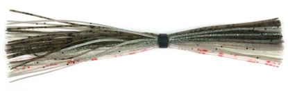 Picture of Lunker Lure 23303 Skirts, Smokey Shad