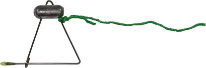 Picture of Promar AC-28G Crab Throw Line 28FT, weighted - Chartreuse