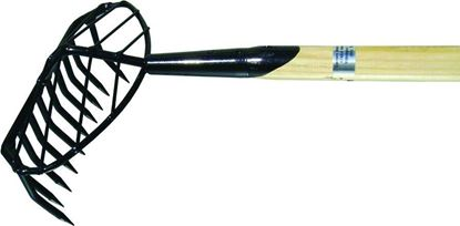 Picture of Down East R-10TB Clam Rake 5' w/Basket 10-Round Tooth