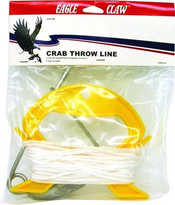 Picture of Eagle Claw 10161-005 Crab Throw Line Heavy Duty