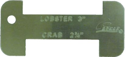 """Picture of Promar AC-330 Florida Lobster/Crab Gauge Measures 3"""" & 2 3/4"""""""