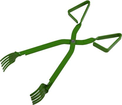 """Picture of Promar AC-815 15"""" Metal Crab Tong - Green"""