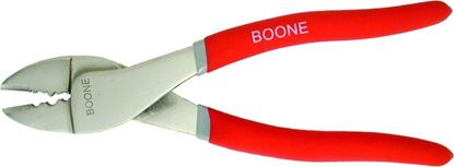 """Picture of Boone 06000 Crimping Tool SS, Red Handles, 9.5"""""""