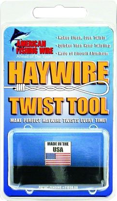 Picture of AFW TPTWISTR1 Haywire Twist Tool, use with Size #3-#14 Tooth Proof Wire (059270)