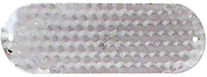 "Picture of Luhr Jensen 5100-020-0014 Jensen Dodger, 5 13/16"", Hammered Chrome"