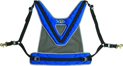 Picture of AFTCO HRNS2BLUE Maxforce Harness Blue