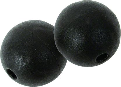 Picture of Black Marine BS-015 Outrigger Ball Stops Plastic Pair