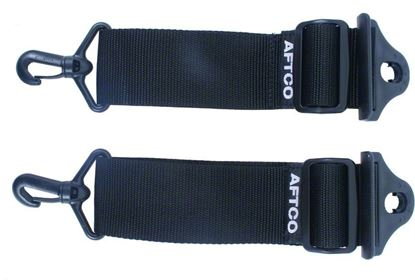 Picture of Aftco STRAP1B Adjustable Nylon Drop Straps For All Belts