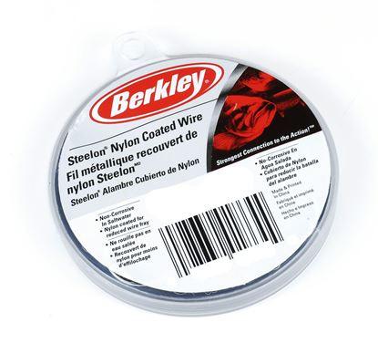 Picture of Berkley D30BL Steelon Nylon Coated Wire 30' 30# Black