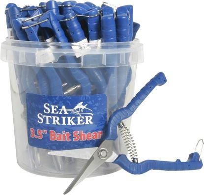 """Picture of Sea Striker SSBS-24 3"""" Bait Shear - 24pc. Bucket"""