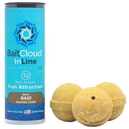 Picture of Bait Cloud BC3P-CRF Fish Attractant 3/Tube Crawfish