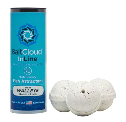 Picture of Bait Cloud IL3P-EYE InLine Walleye Formula, attaches to fishing line