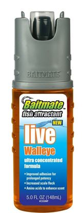 Picture of Baitmate 559W Fish Attractant, 5 oz Pump Spray, Live Walleye