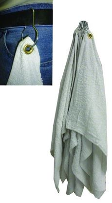 Picture of Anglers Choice TWGR-012 Fishin' Towel w/Grommet And Snap Ring