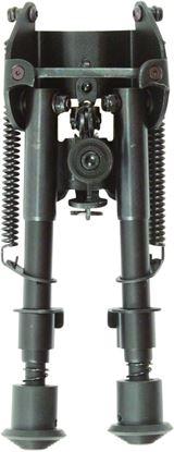 """Picture of Allen 2207 Bozeman Bipod, Sling Swivel Mount, Black, 6-9"""", Folding Legs"""