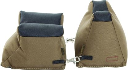 Picture of Allen 1830 Filled Front and Rear Shooter's Rest Combo, Tan