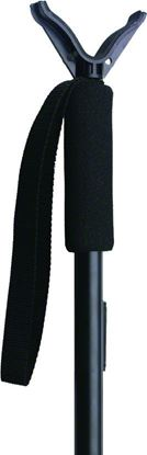 """Picture of Allen 2164 Compact Shooting Stick, Adjusts 14.5"""" to 34"""", Matte Black (065224)"""