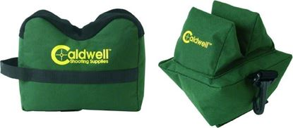 Picture of Caldwell 248885 Deadshot Bag Combo Unfilled Front and Rear
