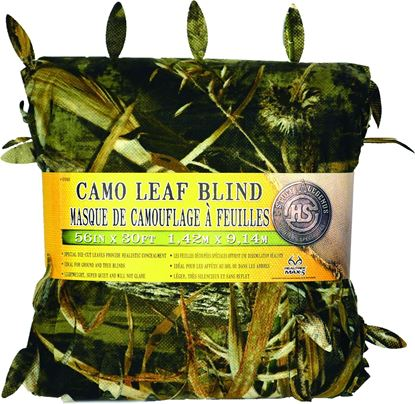 """Picture of Hunters Specialties 07593 Camo Leaf Blind Material Max-5 56"""" x 30'"""