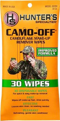 Picture of Hunters Specialties 00299 Camo-Off Makeup Remover