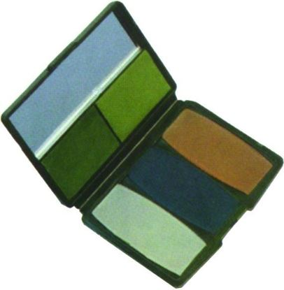 Picture of Hunters Specialties 00278 Camo-Compac 5 Color Military Woodland Makeup Kit