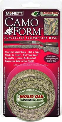 Picture of McNett 19502 Camo Form Self-Cling Camo Wrap Shadow Grs