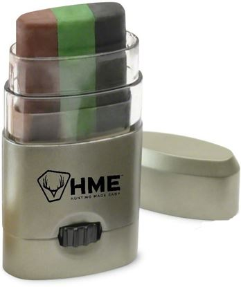 "Picture of HME HME-CMOFPDS 3 Color Camo Face Paint ""Mess Free"" Application Stick"