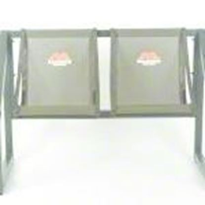 Picture of Millennium B-002-2X 2 Man Bench Seat, Powder Coated Steel, 500 lbs Capacity