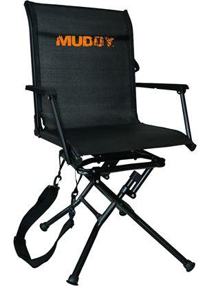 Picture of Muddy MGS400 Swivel-Ease Ground Seat, Flex-tek, 360 Deg Swivel, Folding w/Carry Strap