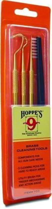 Picture of Hoppes T03 Cleaning Picks Brass Blister