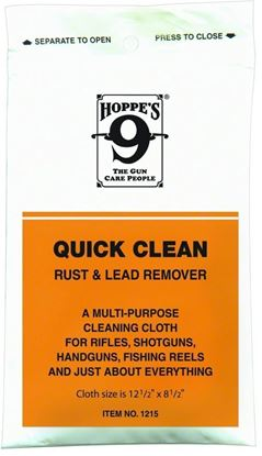 Picture of Hoppes 1215 No. 9 Quick Clean Rust And Lead Remover Cloth, Poly Bag