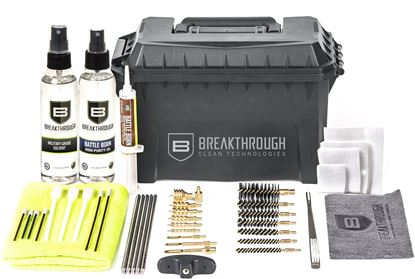 Picture of Breakthrough BT-ACC-U Ammo Can - Stainless Steel Rod Cleaning Kit (.22 cal thru 12 gauge)