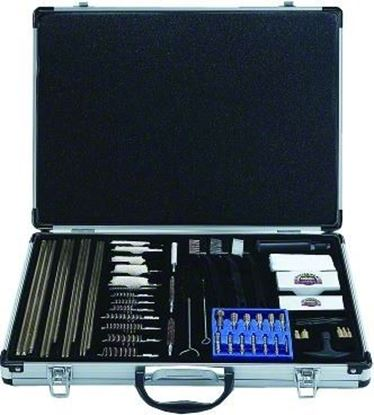 Picture of GunMaster UGC100S Universal Cleaning Kit 61 pc Aluminum Case