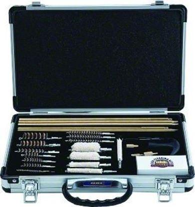 Picture of GunMaster UGC76C 27pc. Universal Gun Cleaning Kit Aluminum Case