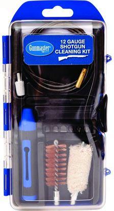 Picture of GunMaster GM12SG 13Pc 12Ga Shotgun Cleaning Kit w/Pull Through Rod & 6Pc Driver Bit Set (112790)
