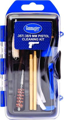 Picture of GunMaster GM9P 14Pc .38/9mm Pistol Cleaning Kit w/6Pc Driver Set (112786)