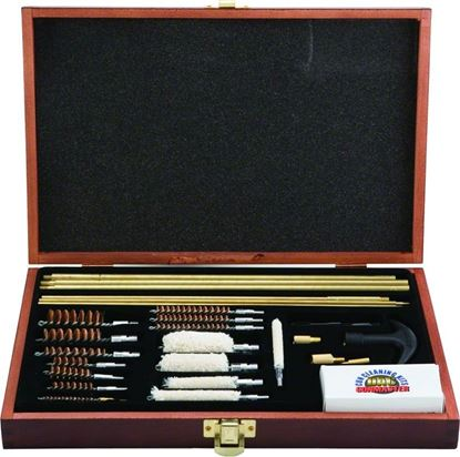 Picture of GunMaster UGC76W Deluxe Kit 35 Pc Wood Case (000563)