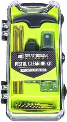 Picture of Breakthrough BT-ECC-35/38/9 Vision Series Hard-Case Pistol Cleaning Kit - .35 cal / .38 cal / 9mm